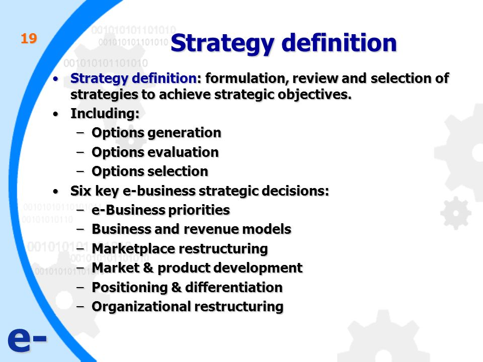 What Is the Meaning of Strategic Analysis?