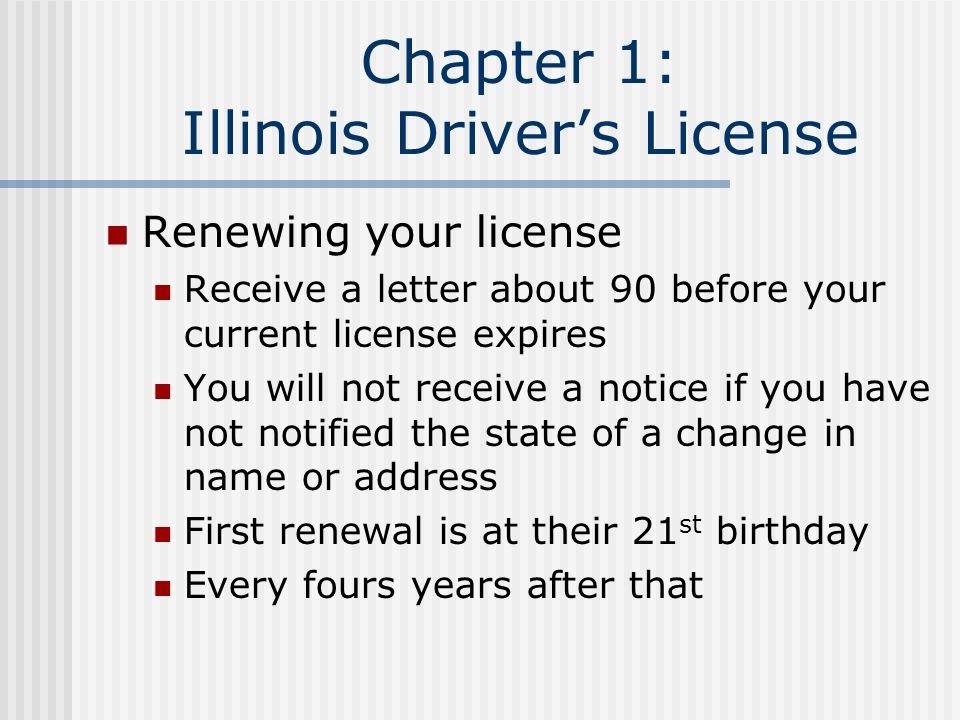 renew your license