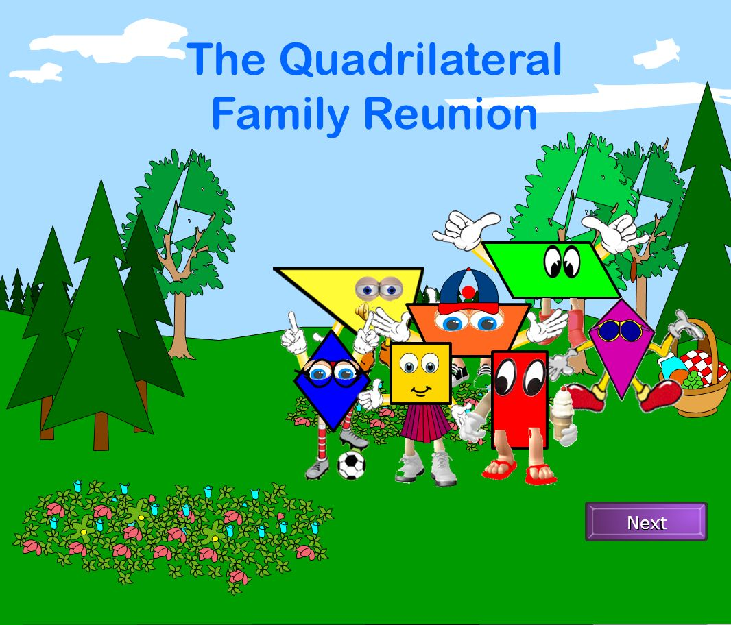 The Quadrilateral Family Reunion Next Ppt Video Online Download Choose from 500 different sets of flashcards about quadrilateral family tree on quizlet. slideplayer