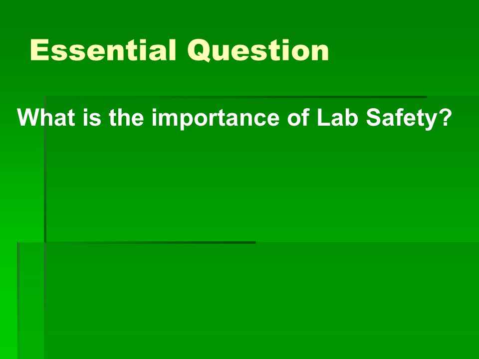 LAB SAFETY RULES based on FLINN SCIENTIFIC'S MIDDLE SCHOOL SCIENCE ...