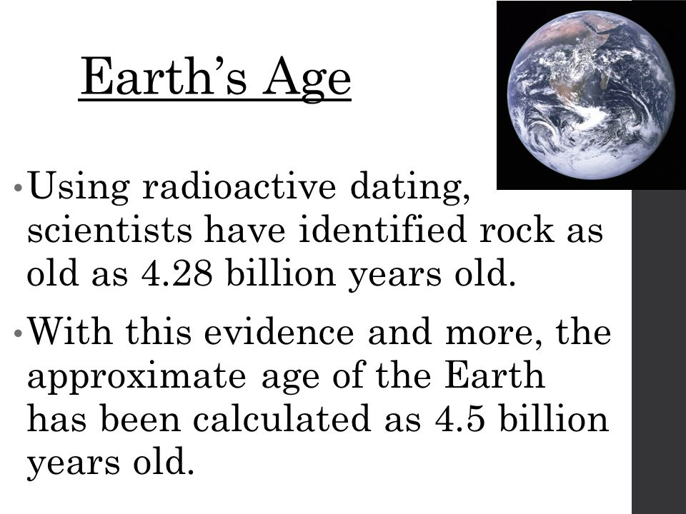 Explain How Radioactive Age Hookup Is Completed