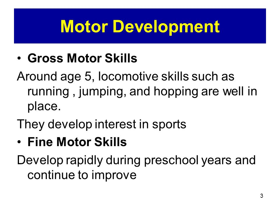 Middle Childhood Cognitive And Physical Development Ppt