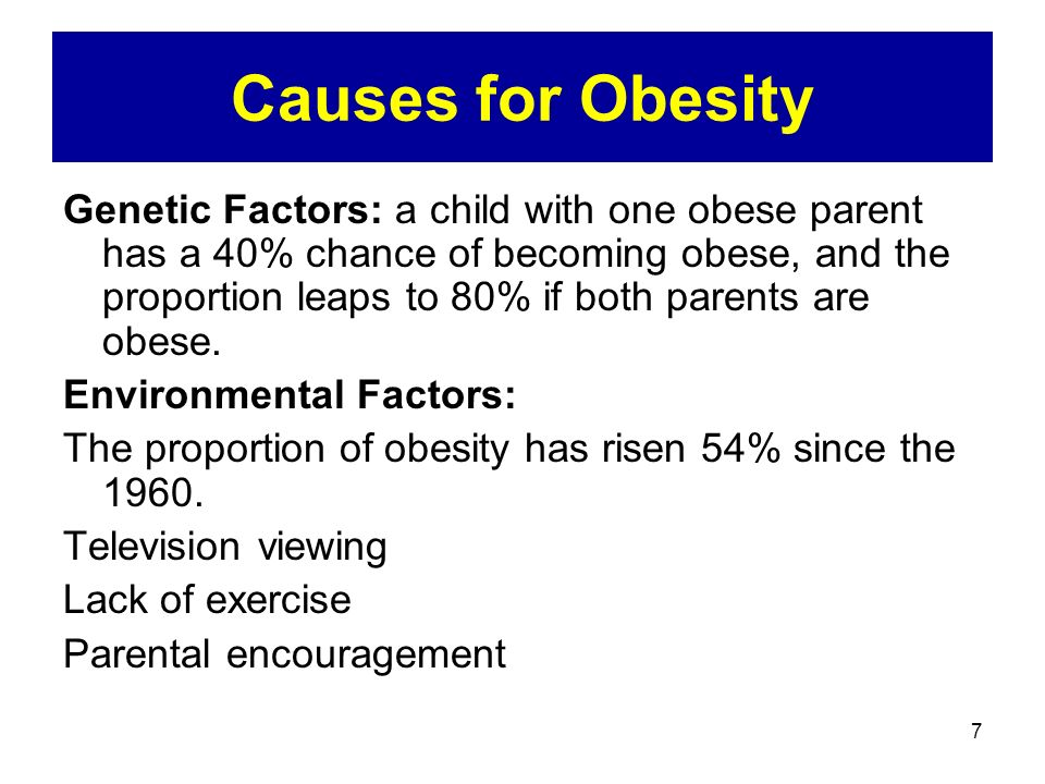 10 Leading Causes of Weight Gain and Obesity