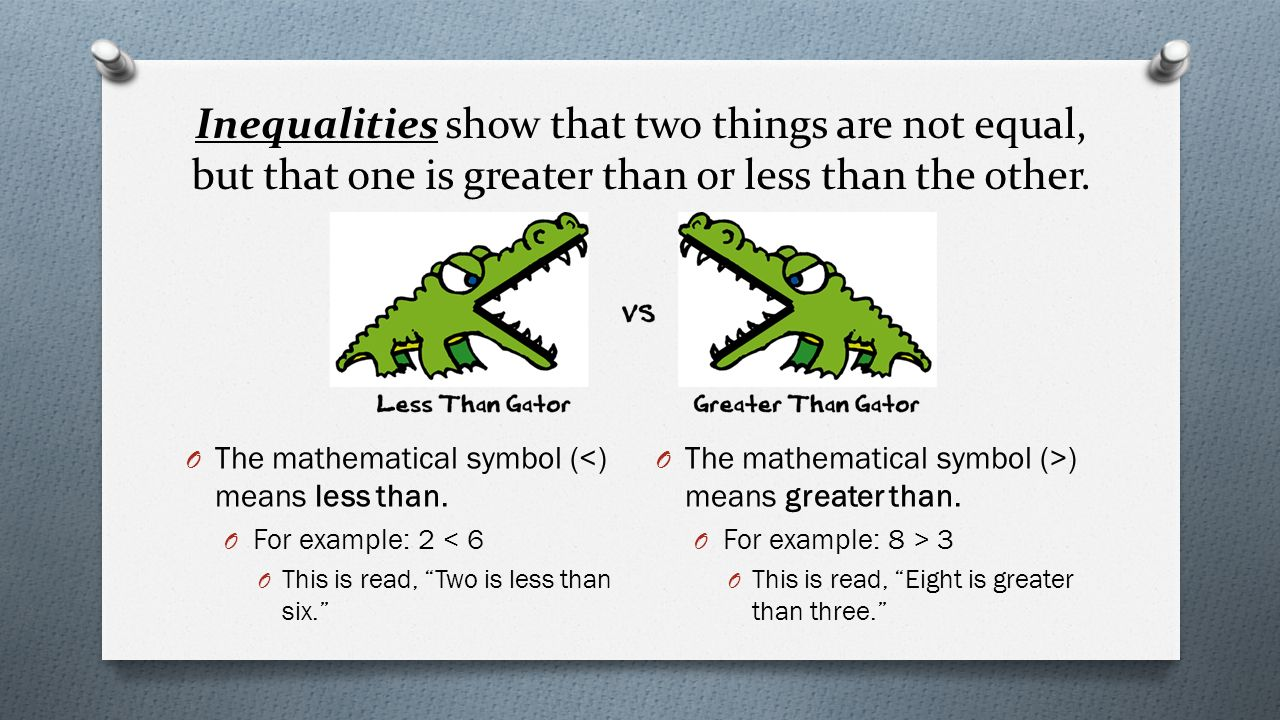 Module 3 rational numbers ppt download inequalities show that two things are not equal but that one is greater than or buycottarizona Images