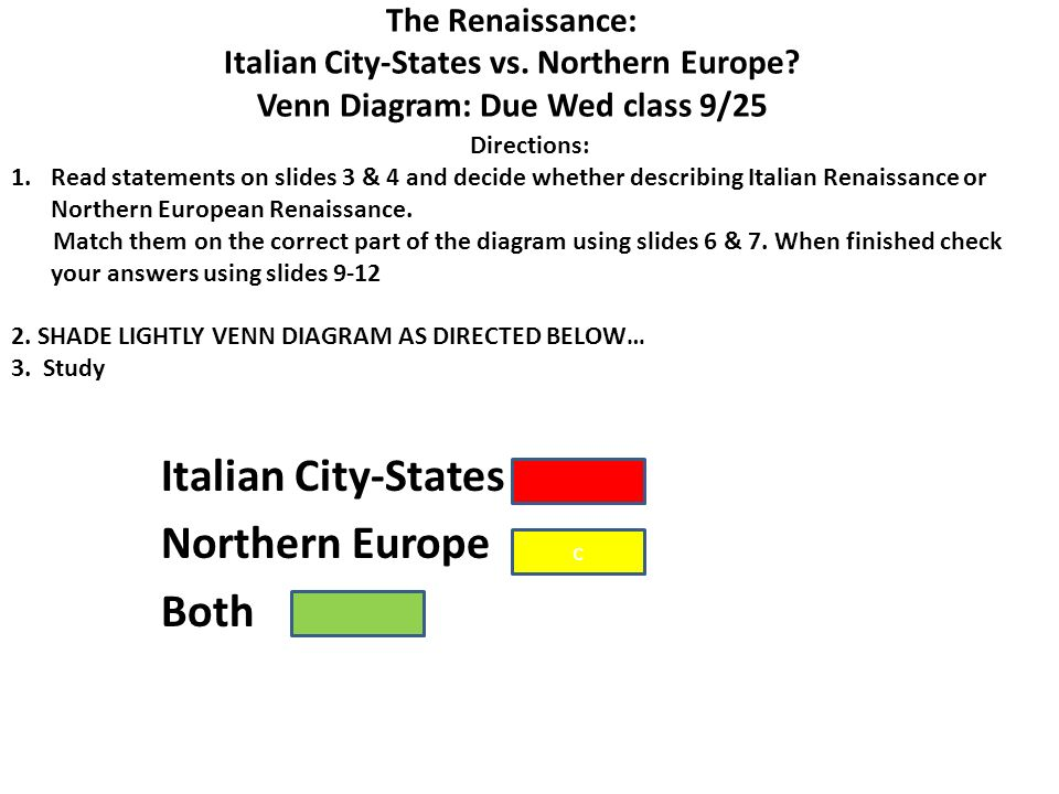 an analysis of renaissance in italy and europe The italian renaissance was a period of european history that began in the 14th  century (trecento) and lasted until the 17th century (seicento), marking the.