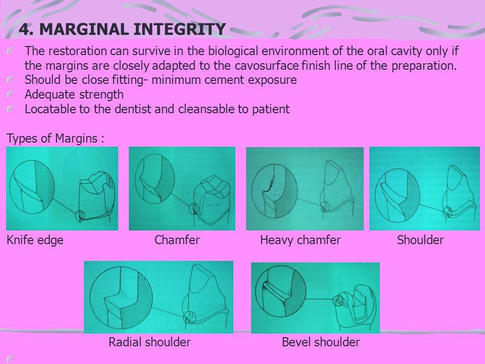 4. MARGINAL INTEGRITY