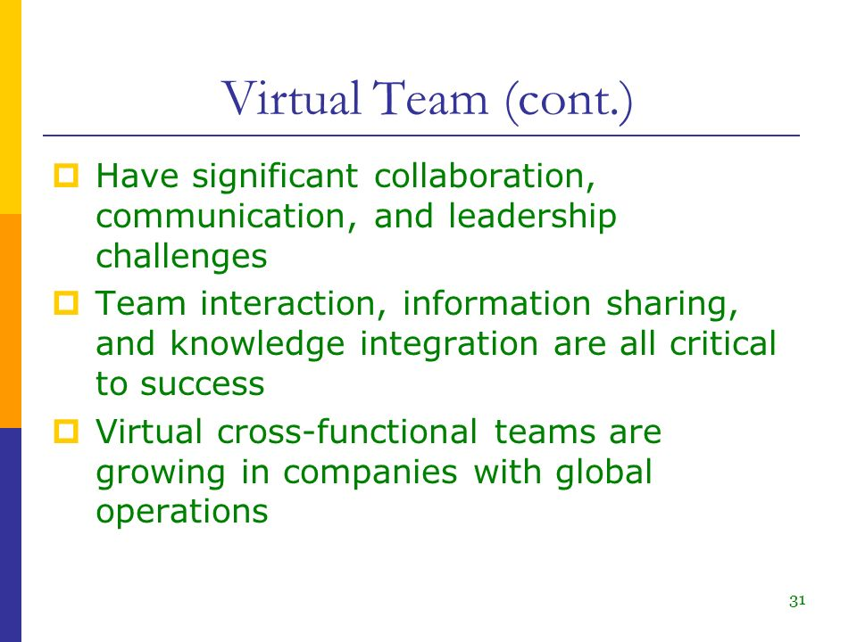communication challenges in global virtual teams 2015-4-27  'communication management within virtual teams in global projects  however, even though a lot of communication management challenges are.