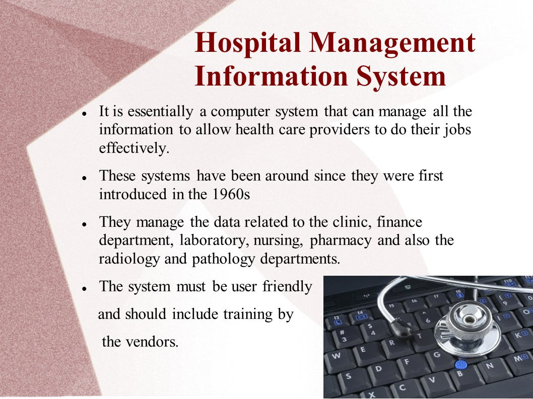 Management Information System In Healthcare Ppt Video