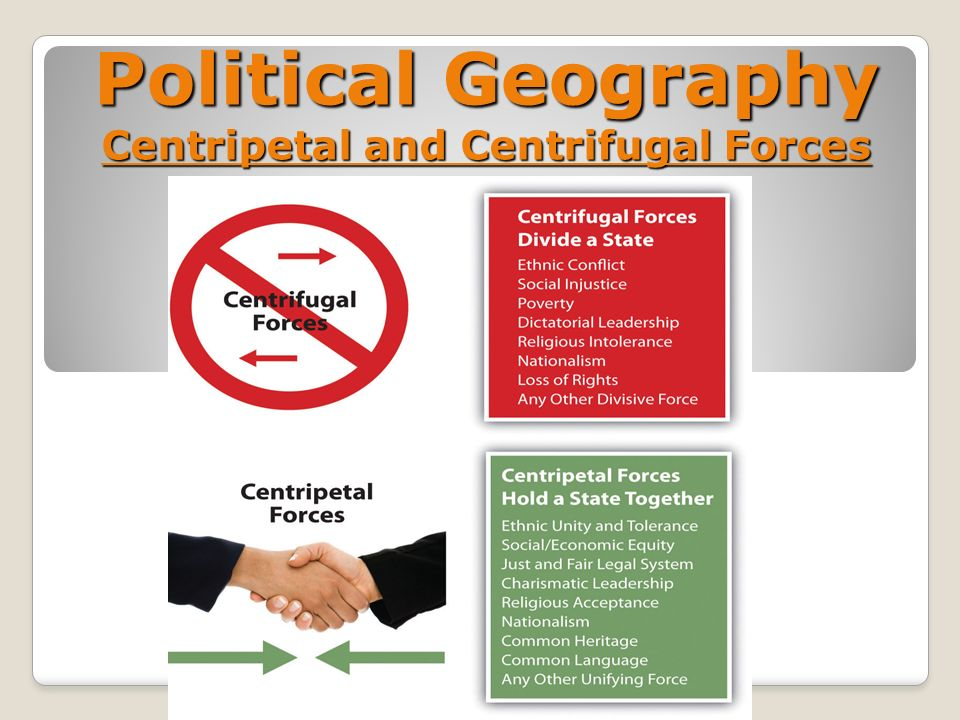 an analysis of political geography
