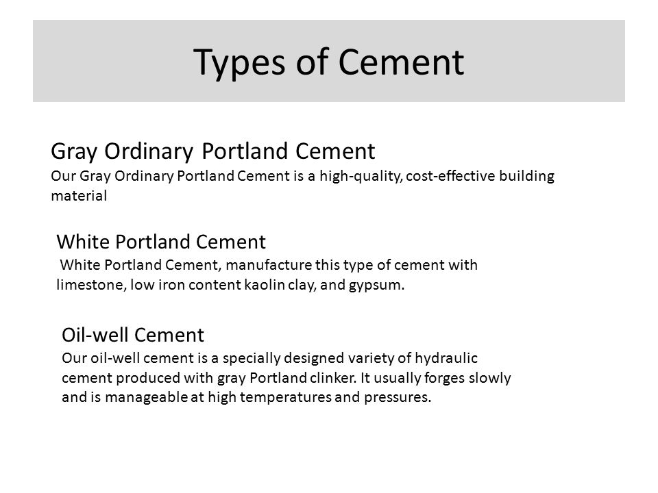 Ordinary Portland Cement : Making of cement ppt video online download