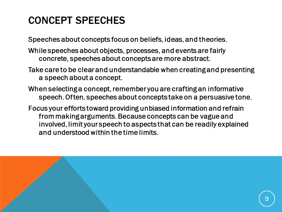 The Informative Speech - Ppt Video Online Download