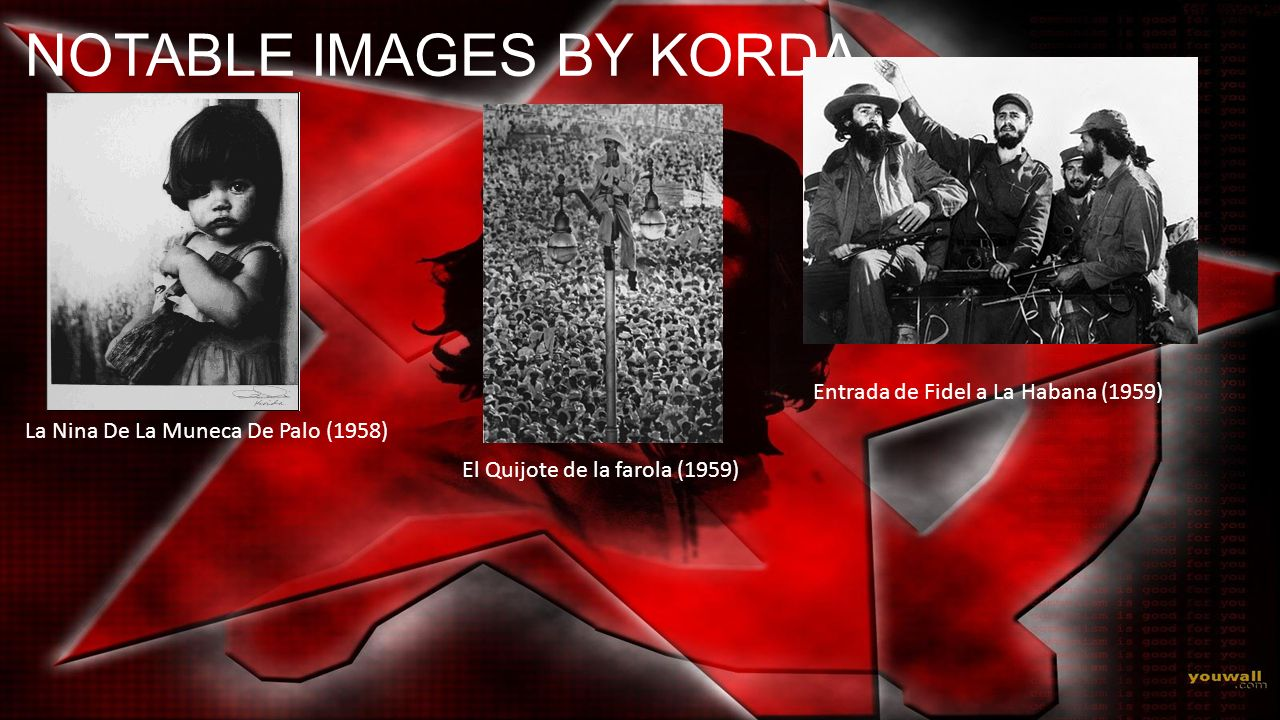 NOTABLE IMAGES BY KORDA