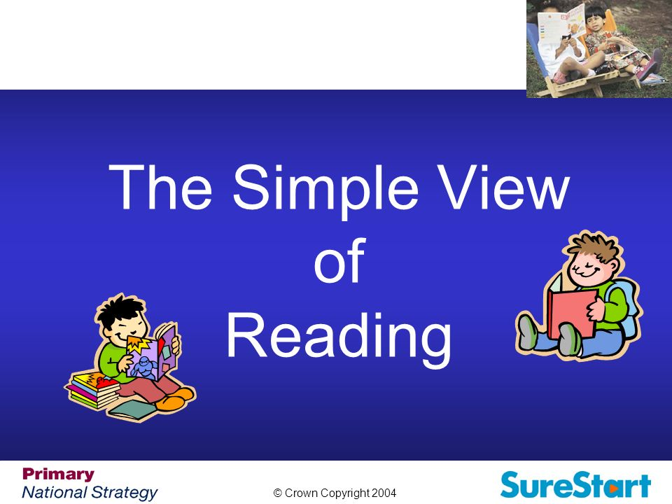 the simple view of reading pdf