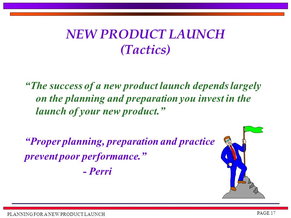new product launch plan pdf