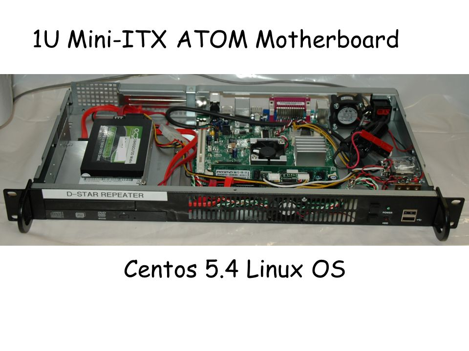 1U Mini-ITX ATOM Motherboard