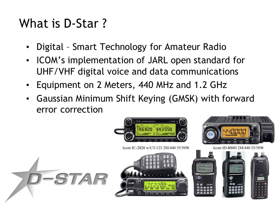 What is D-Star Digital – Smart Technology for Amateur Radio