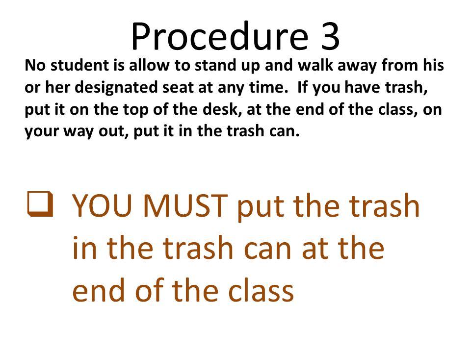 Procedure 3