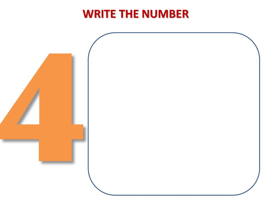 43 WRITE THE NUMBER