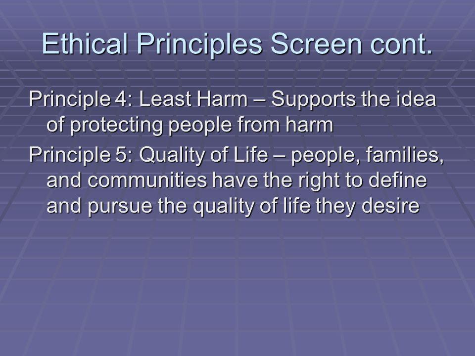 Ethical Principles Screen Cont Harm Principle Ethics Explainer The