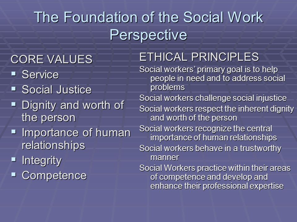 social justice and the role of social work Social workers provide education and advocacy to protect human rights and end  oppression social workers empower individuals/groups to function as.