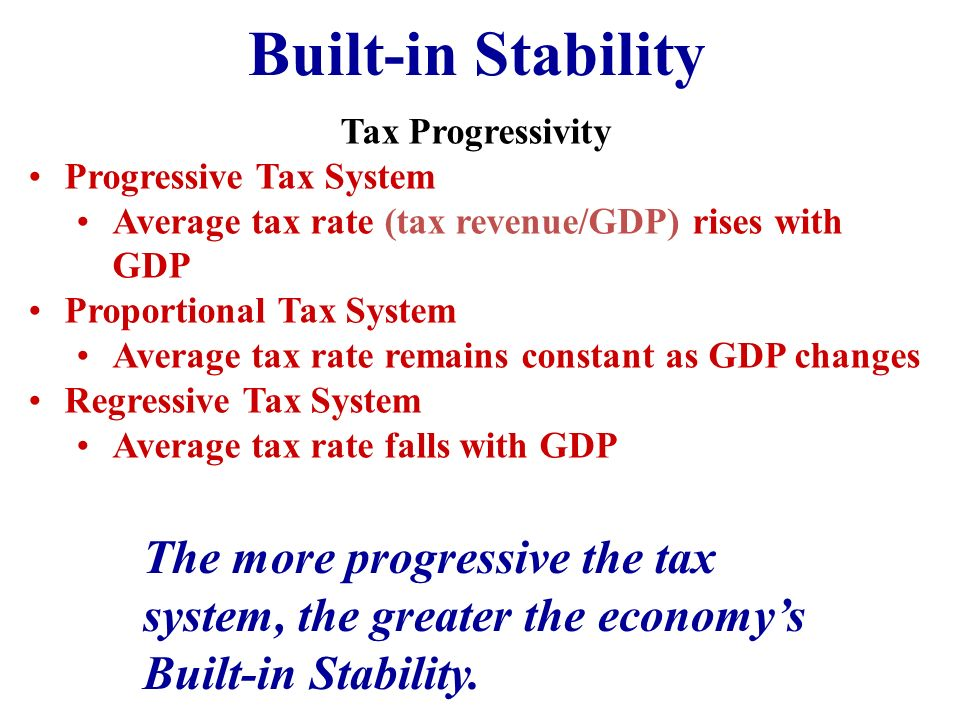 The progressive tax system essay