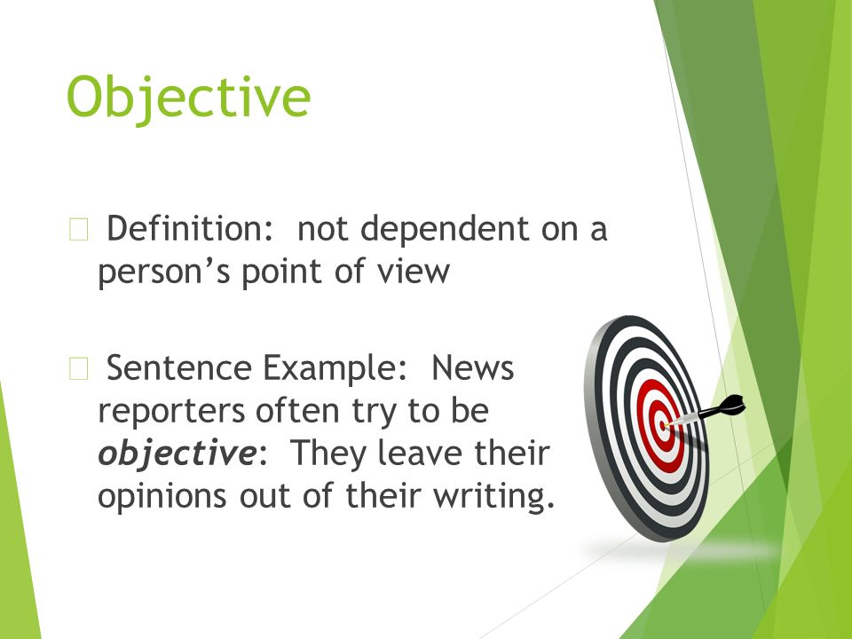 subjective writing definition Define subjective: of, relating to, or constituting a subject: such as — subjective in a sentence.