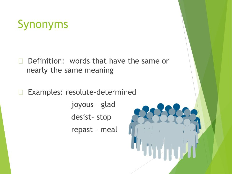 Synonym for determined person