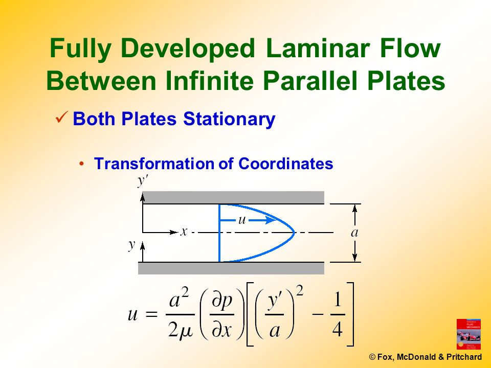 how to find average velocity for fully developed laminar flow