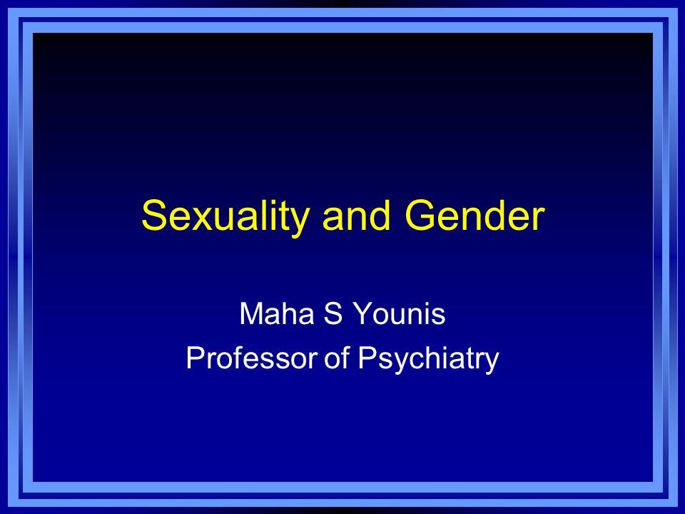 Maha S Younis Professor of Psychiatry