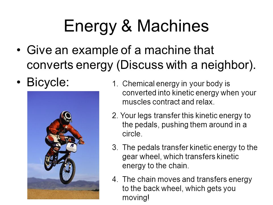 Energy Conversion Examples Ace Energy