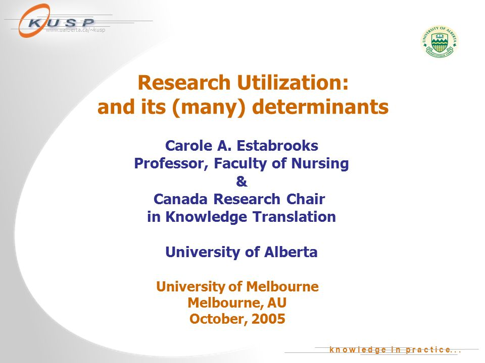 nursing research utilization Current trends anticipated in nursing research for the 21st century include:  continued focus on  nursing is a practice profession, as such, it is important that.