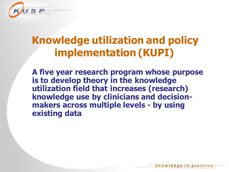 implementation of an information or knowledge Interdisciplinary journal of information, knowledge, and management volume 7, 2012 editor: eli cohen critical success factors for implementing.
