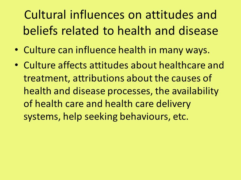 beliefs related to health care Beliefs and practices related to health, the ways that migrant dominicans take care of their health in their new environment, and their experience with professional health care in the northeastern united states.