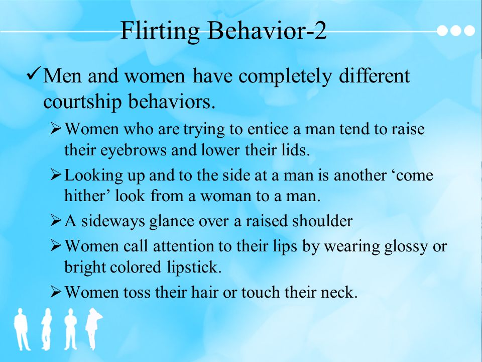 glancing sideways flirting Generally speaking interest equals attraction in the uk at least, a girl whos into you will likely sneak you a sideways glance at the last minute.