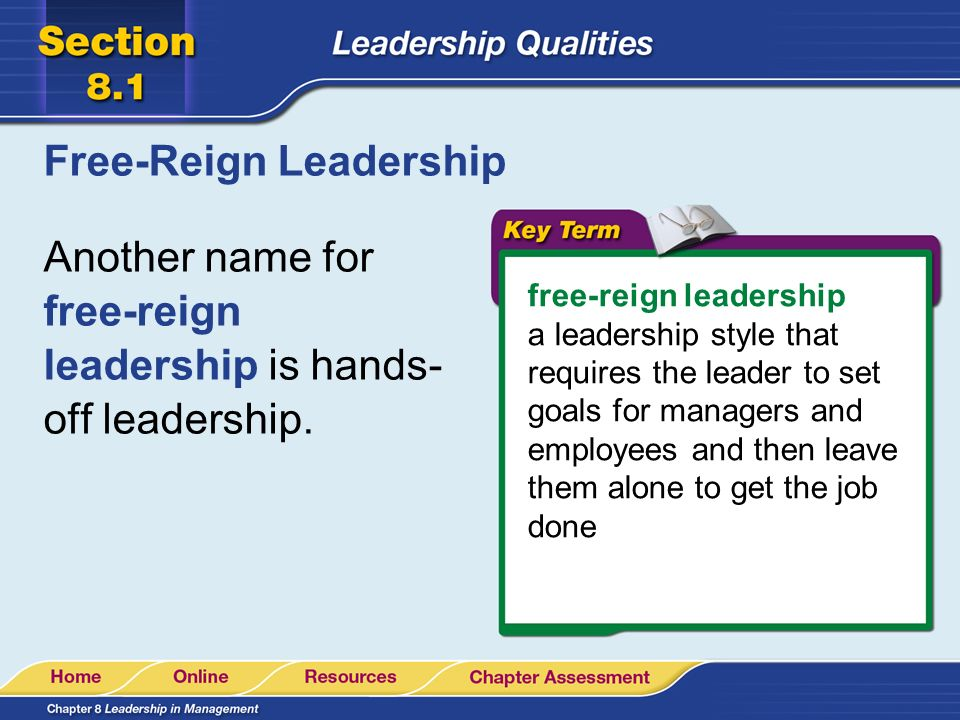 Free-Reign Leadership