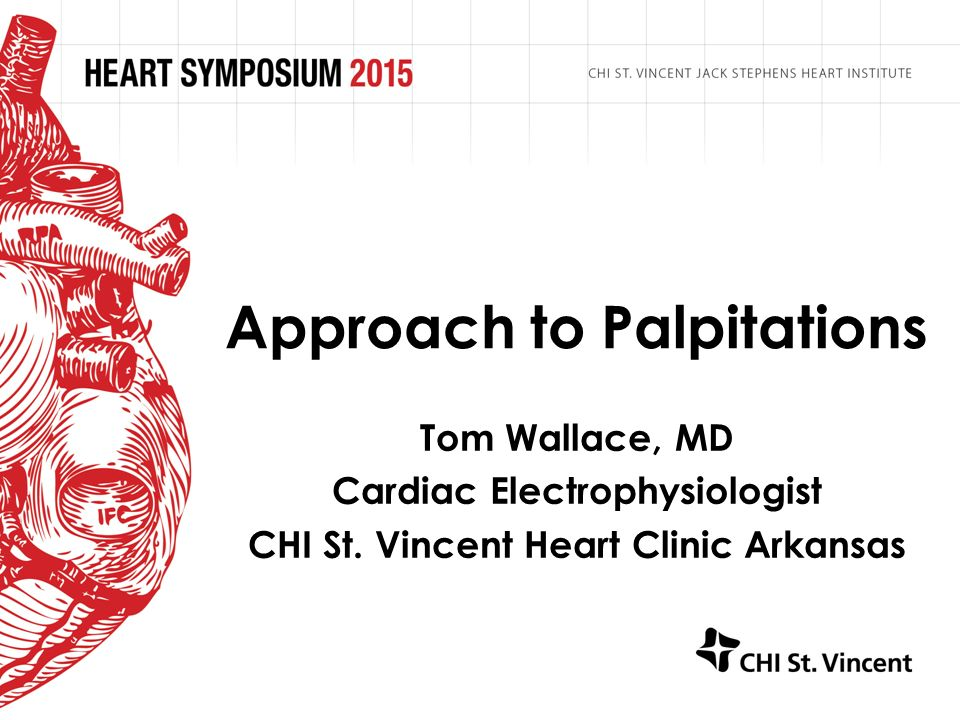 Approach to Palpitations - ppt video online download