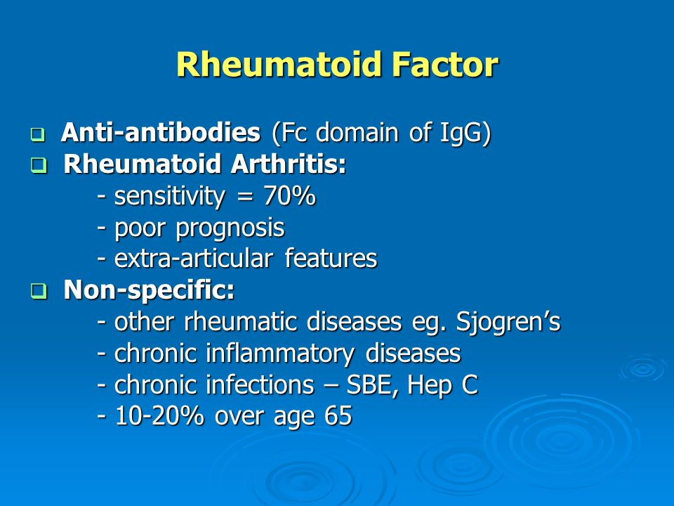 What is sbe arthritis