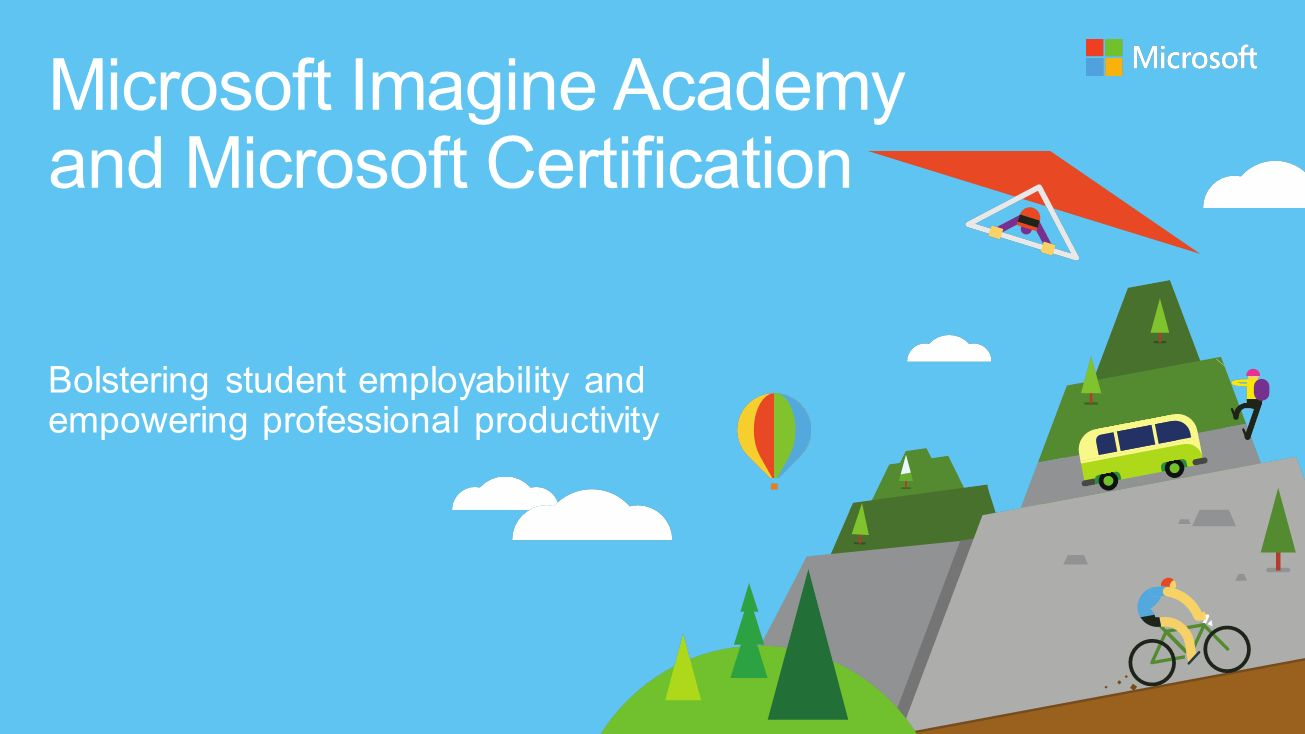 Microsoft imagine academy and microsoft certification ppt download microsoft imagine academy and microsoft certification xflitez Images