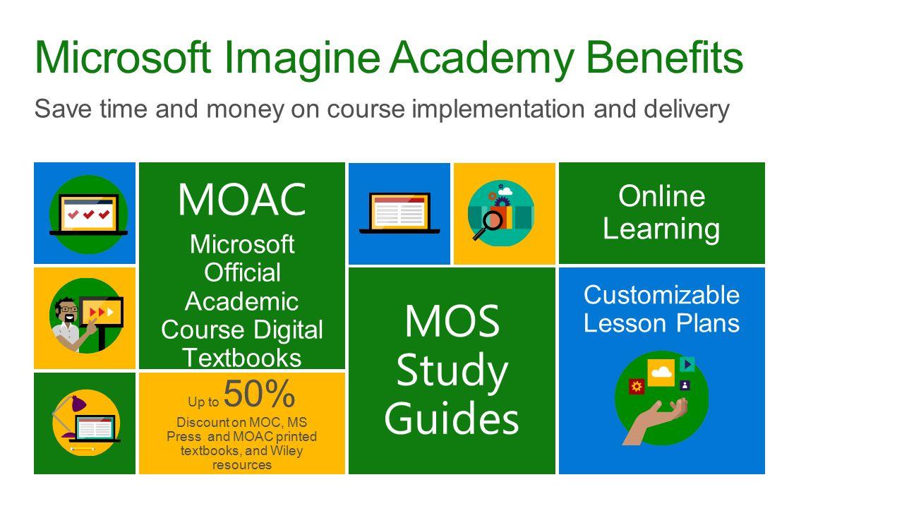 Microsoft imagine academy and microsoft certification ppt download microsoft imagine academy benefits xflitez Gallery