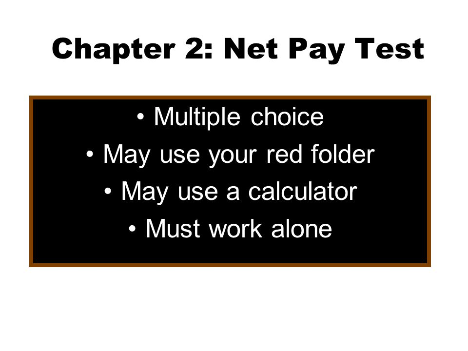 Chapter  Net Income Page   Ppt Video Online Download