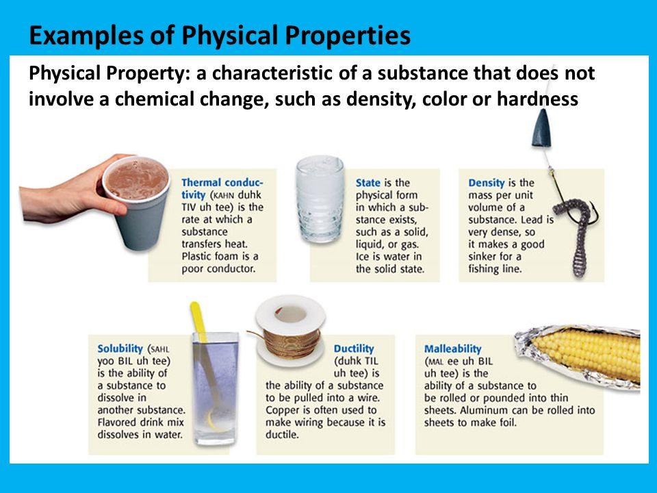 Physical Properties p. 10 – ppt download What Are Some Examples Of Physical Properties