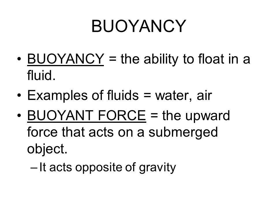how to calculate bouyant forces of objects submerged in water I am having trouble understanding how to calculate  all the same 2) which of the following objects, submerged in water,  buoyant force questions.
