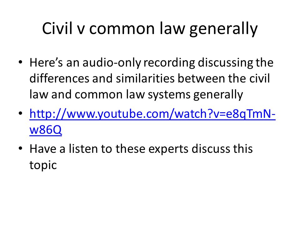 similarities between common law and civil law pdf
