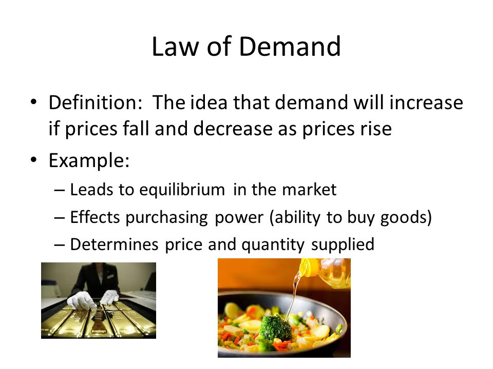 who determines the prices of goods If sellers of the good can easily switch between various goods,  if the production capacity can be adjusted easily in response to changing prices  enotes com.