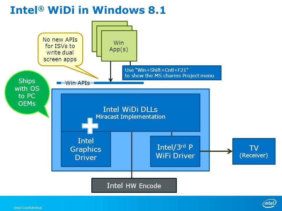 Intel Widi Windows 7 Free Download