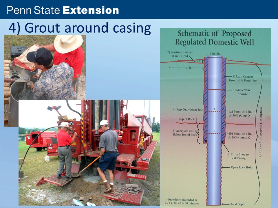 Location and construction of water wells ppt video
