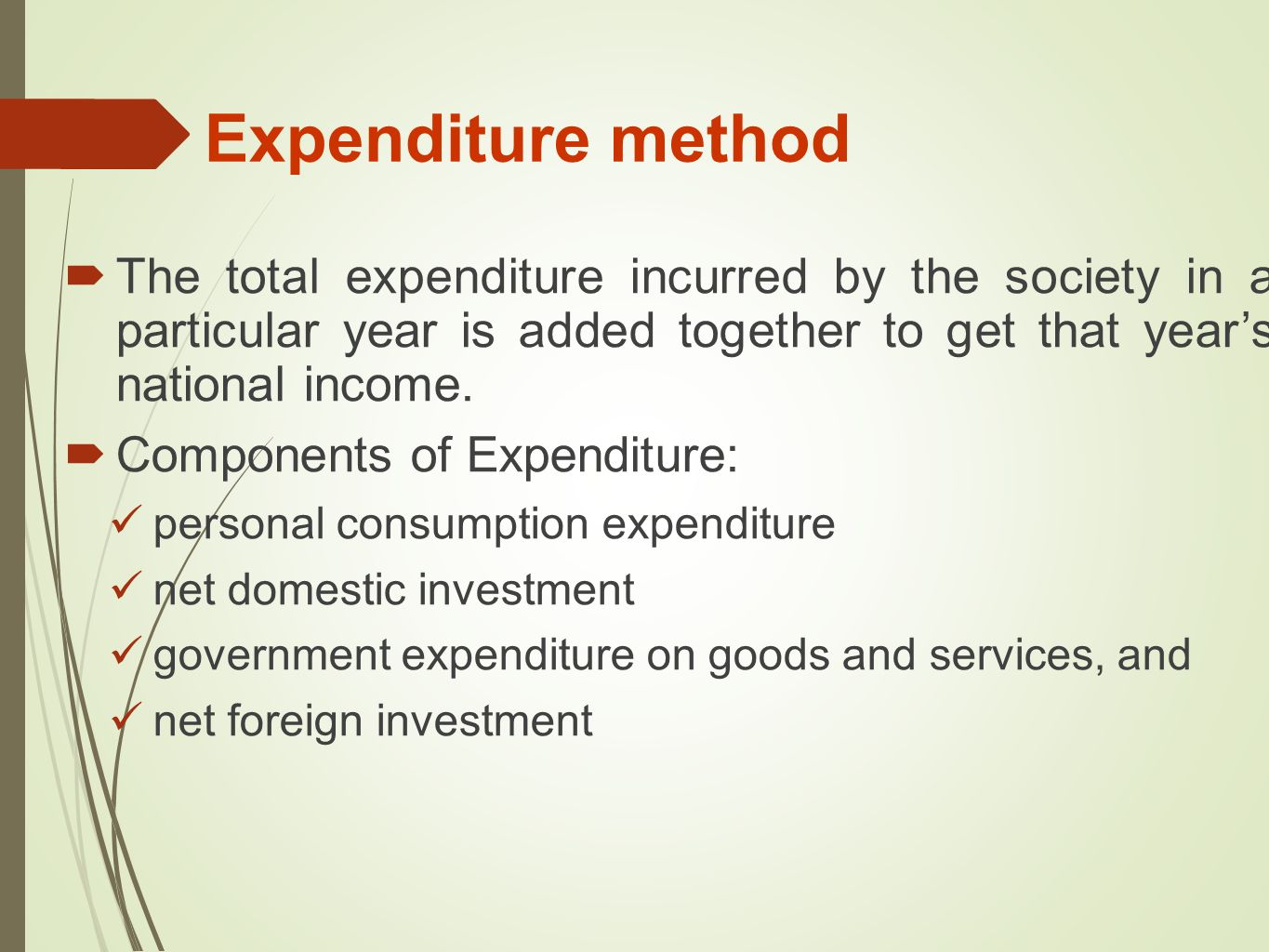 importance of national income 9) identify five importance of national income data 10) distinguish between the  following: i) absolute income and relative income hypothesis (ii) income and.