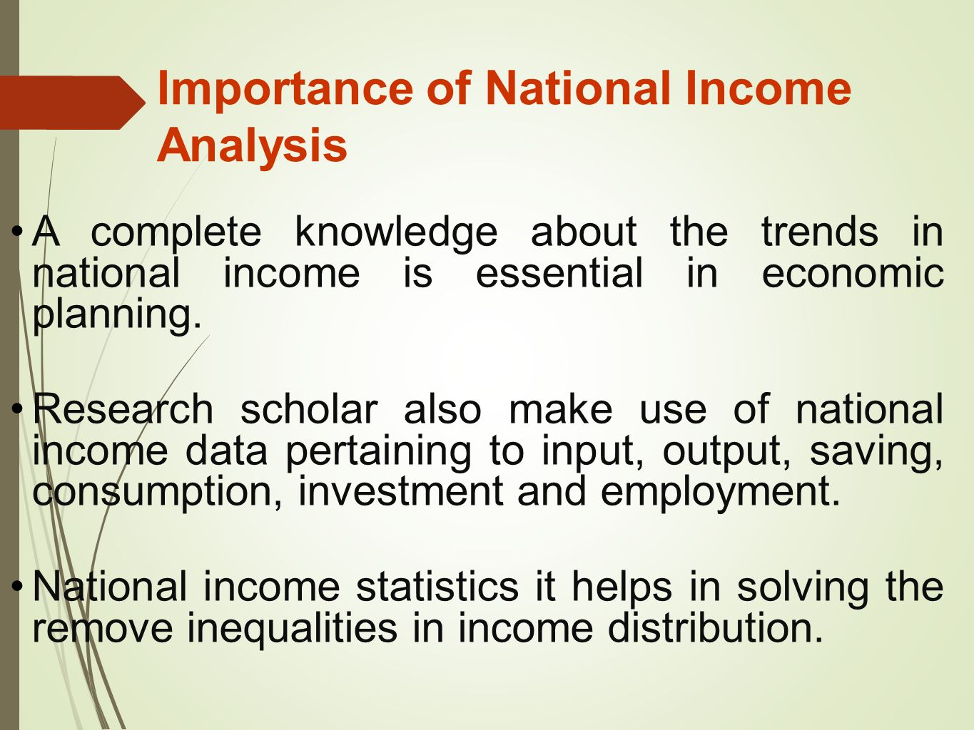 Reasons for Growing Importance of National Income Studies