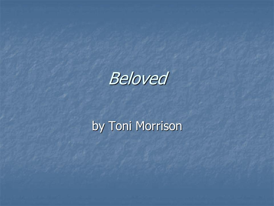 slavery in beloved by toni morrison