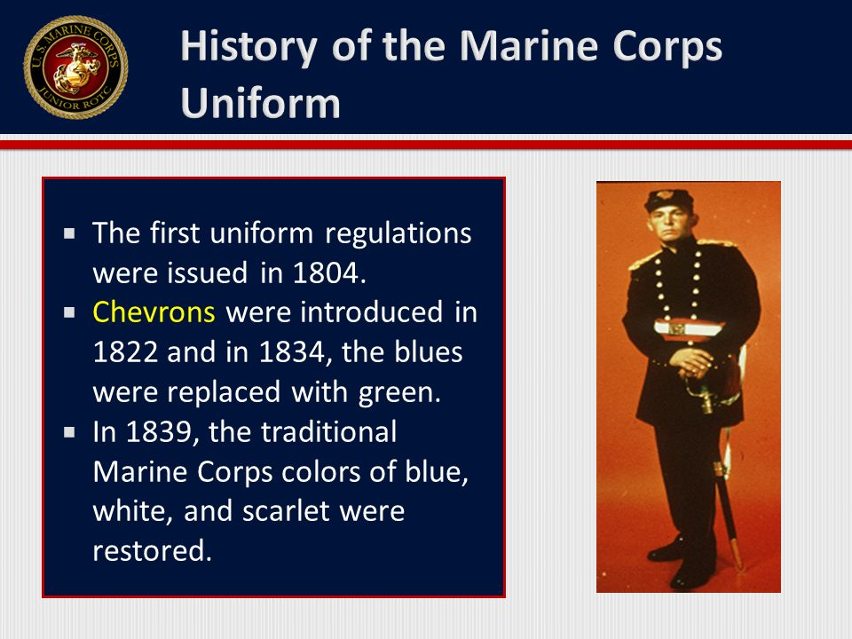 marine corps rules and regulations And of course, the marine uniform should not be worn in circumstances where it would discredit or dishonor the armed forces, or any other situation prohibited by marine corps regulations marines who have received the medal of honor may wear the marine corps uniform at their pleasure, except under the above conditions.